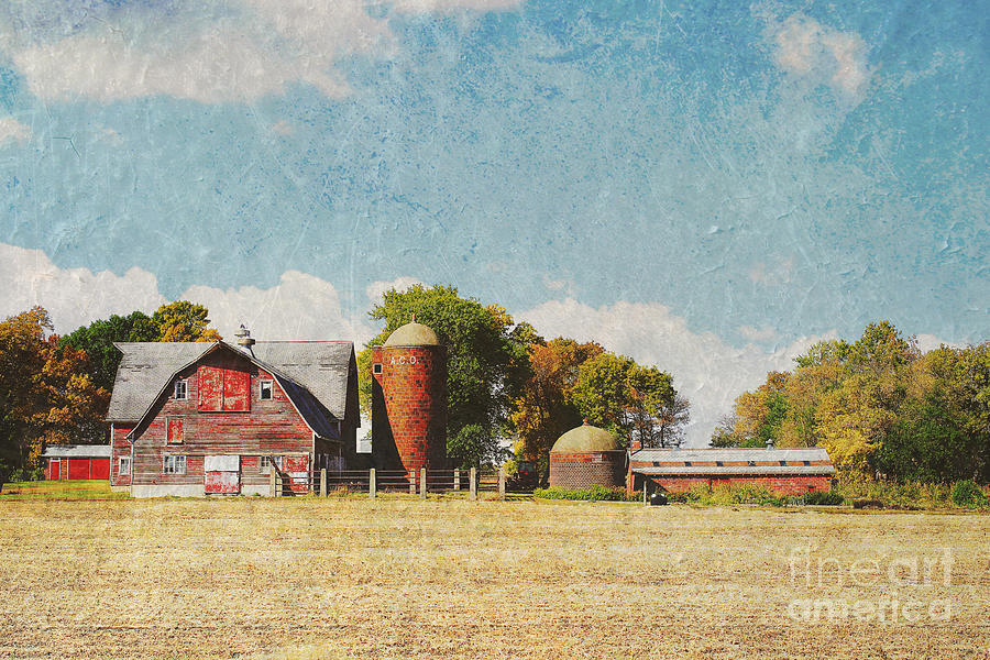 Late Summer Barn by Rural America Scenics