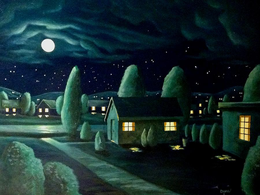 Late Summer Dark Painting