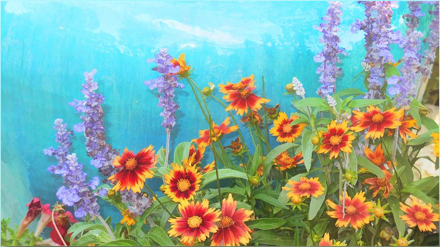 Late Summer Palette Painting by Douglas MooreZart