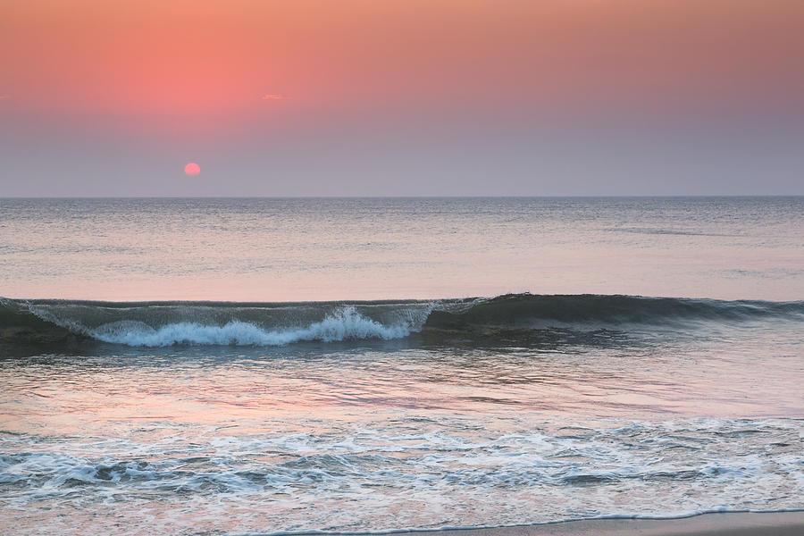 Beach Photograph - Late Summer Sunrise by Bill Wakeley