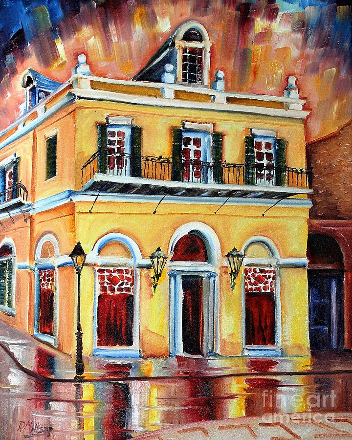 New Orleans Painting - Latrobe Building On Royal Street by Diane Millsap