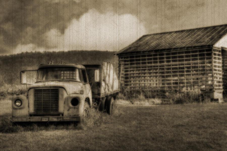 Harrisburg Photograph - Latsha Lumber Company by Shelley Neff
