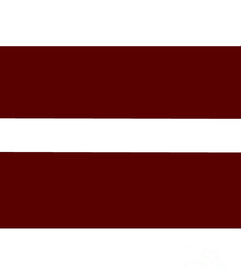 Latvia Digital Art - Latvia Flag by Frederick Holiday
