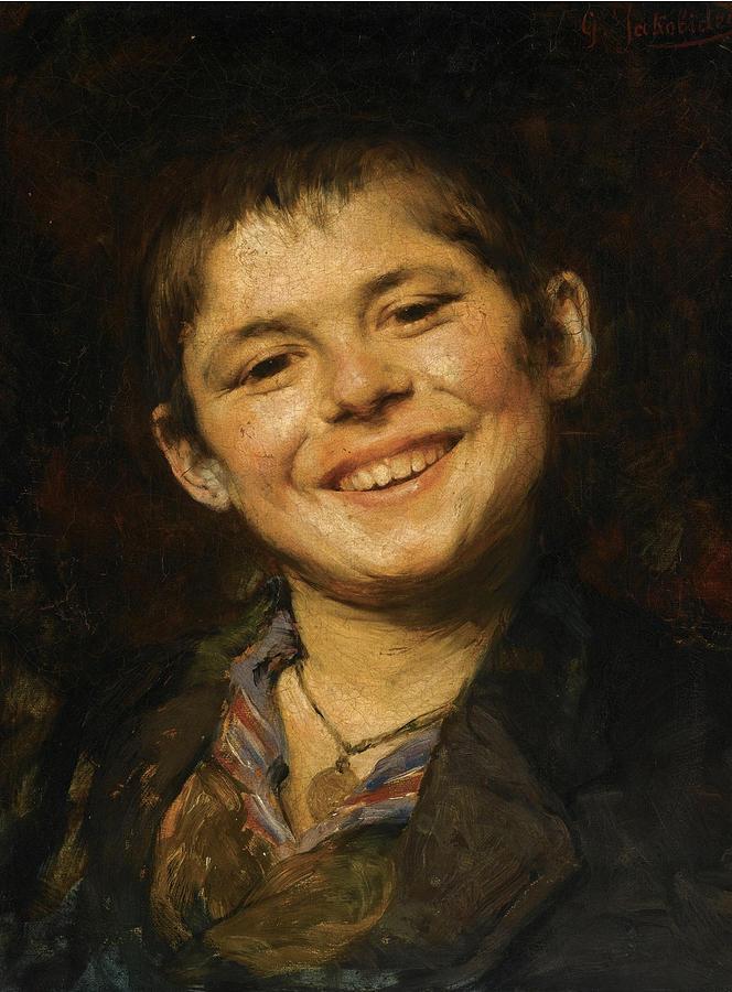 Boy paintings pic 97