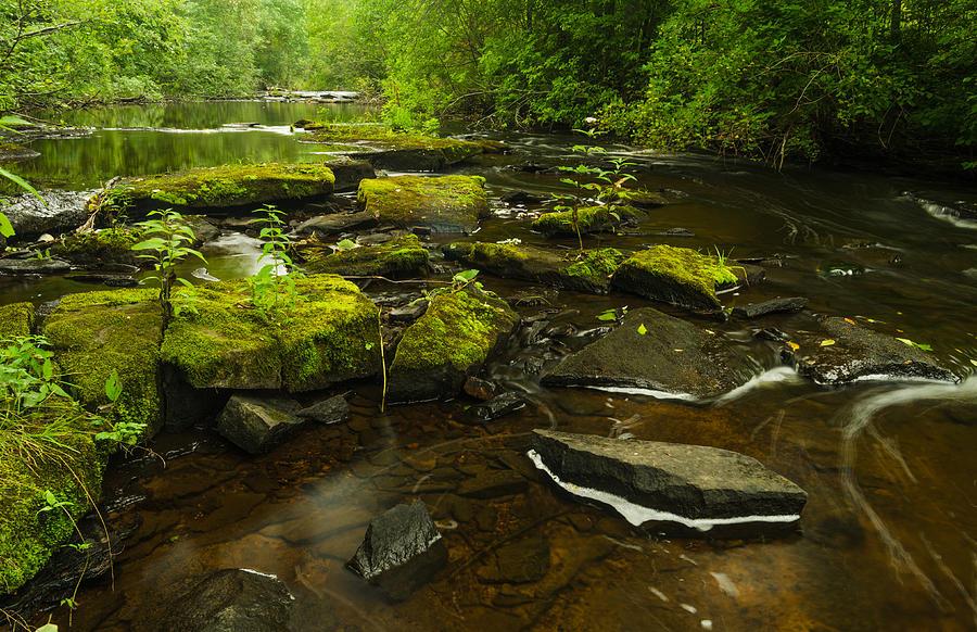 Michigan Photograph - Laughing Fish River by Thomas Pettengill
