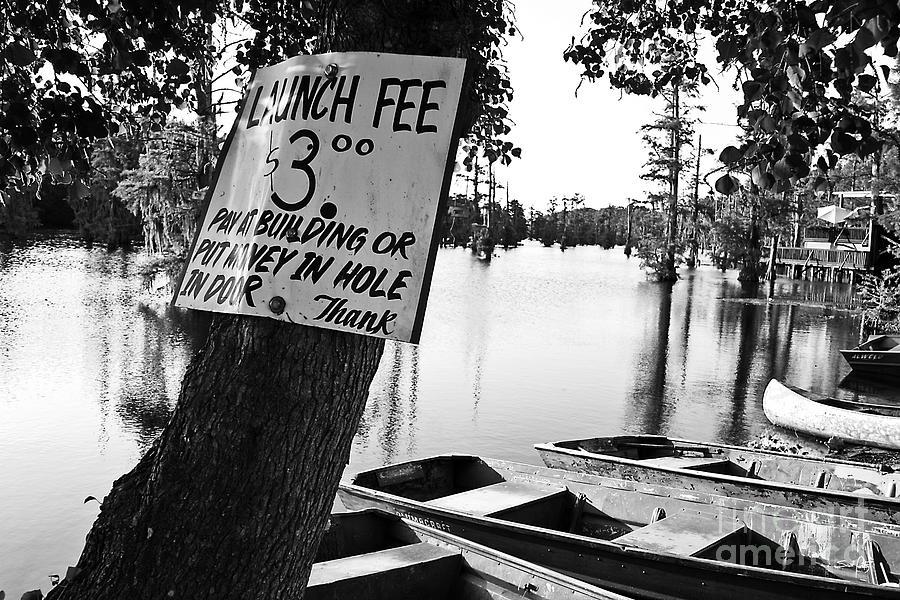 Black & White Photograph - Launch Fee by Scott Pellegrin