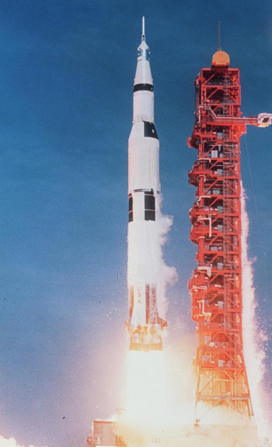 Apollo 11 Photograph - Launch Of Apollo 11 by Nasa/science Photo Library
