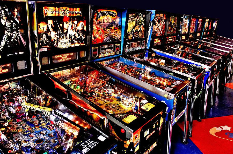 Pinball Photograph - Launchers Lacking by Benjamin Yeager