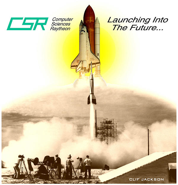 Clif Jackson Art Digital Art - Launching Into The Future by Clif Jackson