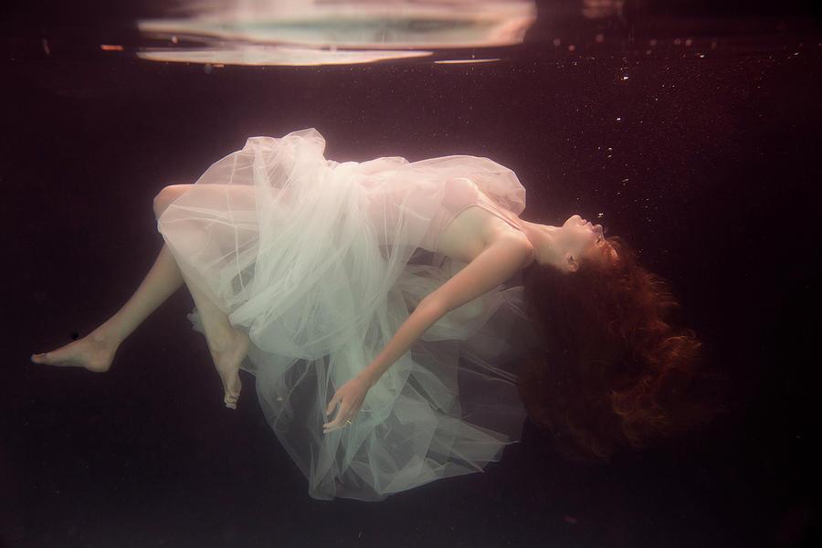 Underwater Photograph - Laura by Gabriela Slegrova
