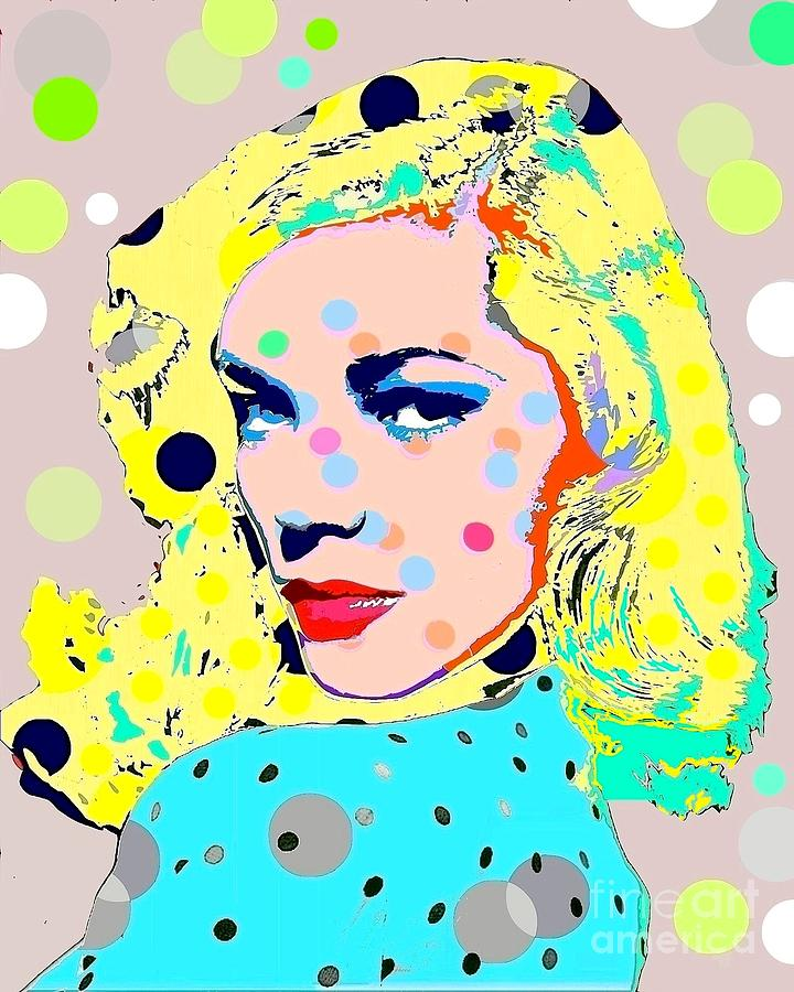 Lauren Bacall Digital Art - Lauren Bacall by Ricky Sencion