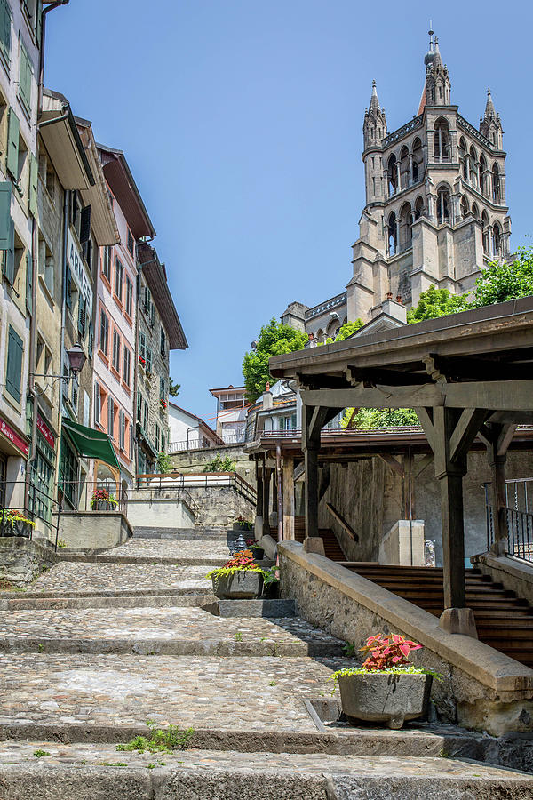 Lausanne Cathedral Photograph by By Jmbruchez