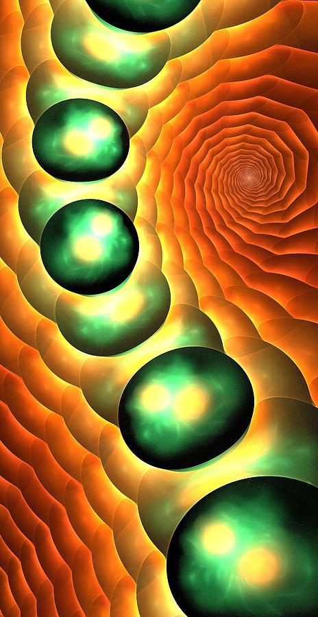 Lava Digital Art - Lava Land by Anastasiya Malakhova