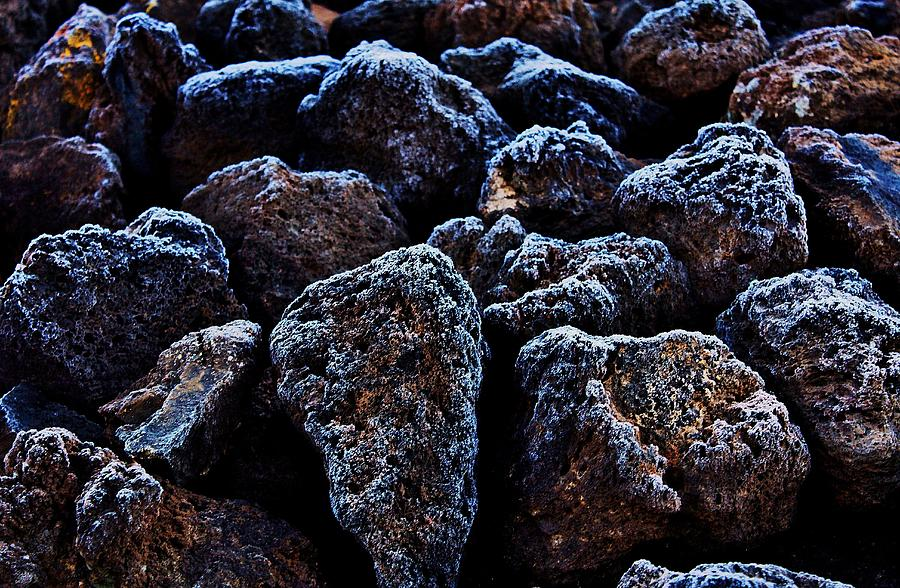Lava Photograph - Lavafrost by Benjamin Yeager