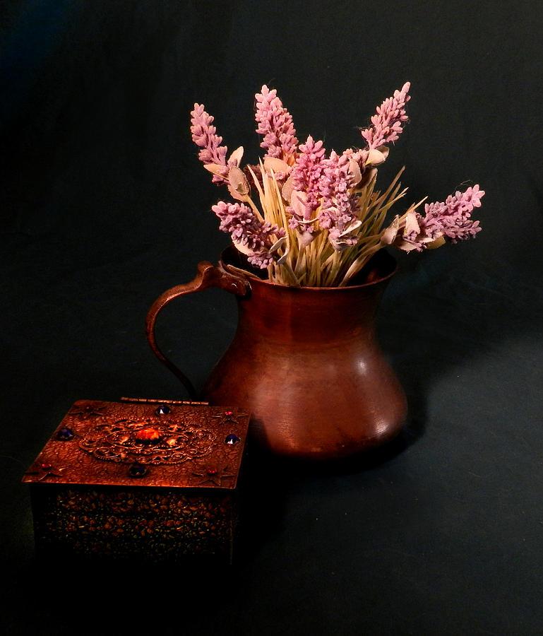 Lavender And Copper Photograph