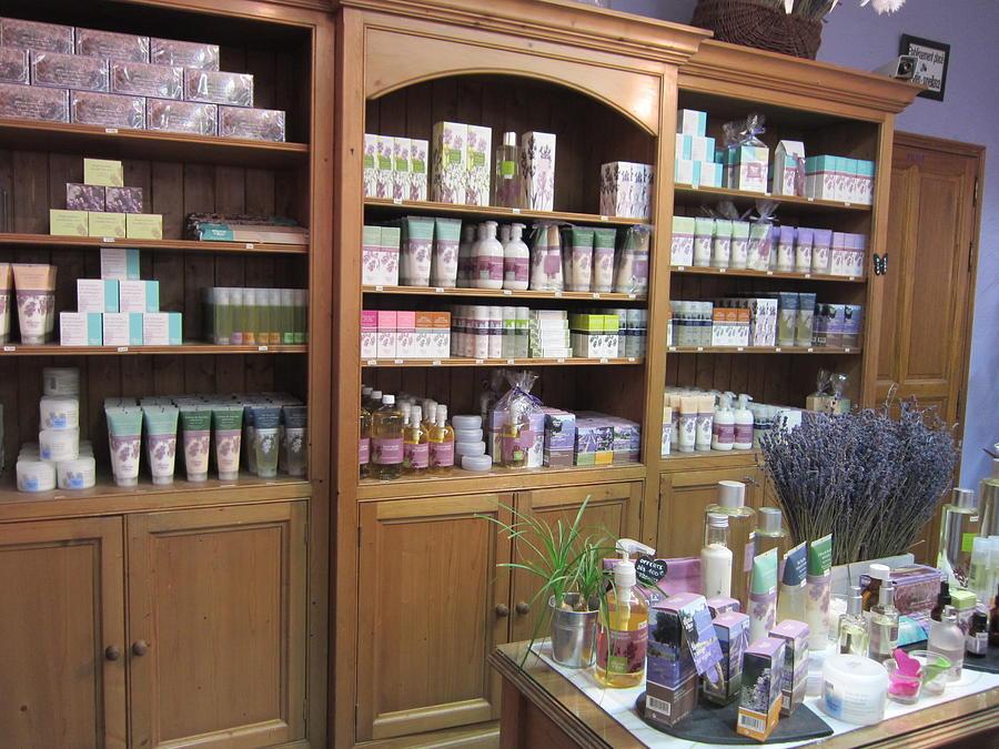 Lavender Photograph - Lavender Museum Shop 1 by Pema Hou
