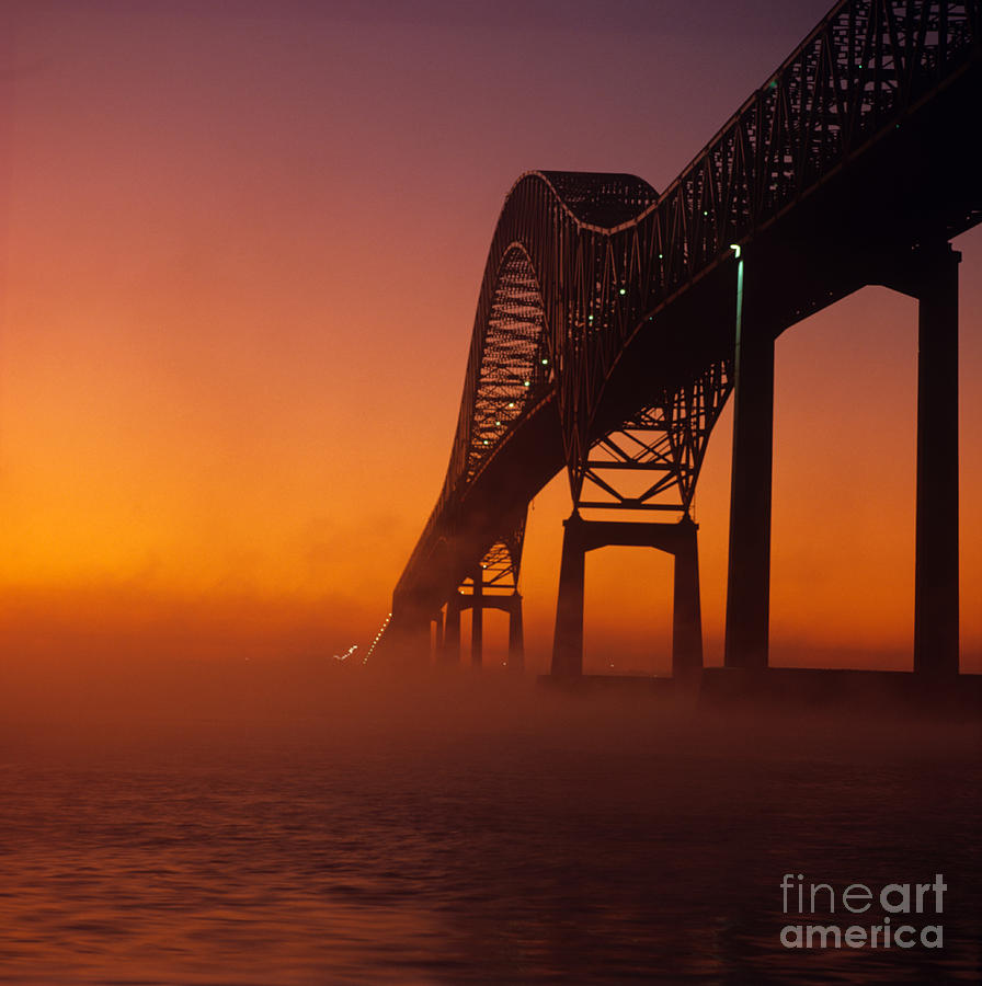 Saint Lawrence Seaway Photograph - Laviolette Bridge by Publiphoto