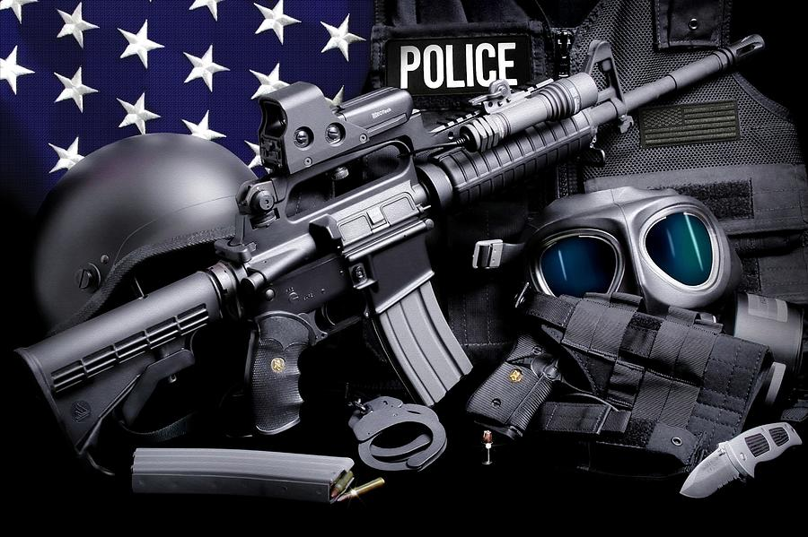 Law Enforcement Photograph - Law Enforcement Tactical Police by Gary Yost