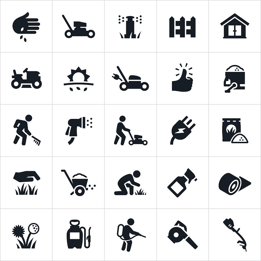 Appleuzr Lawn Icons Care By