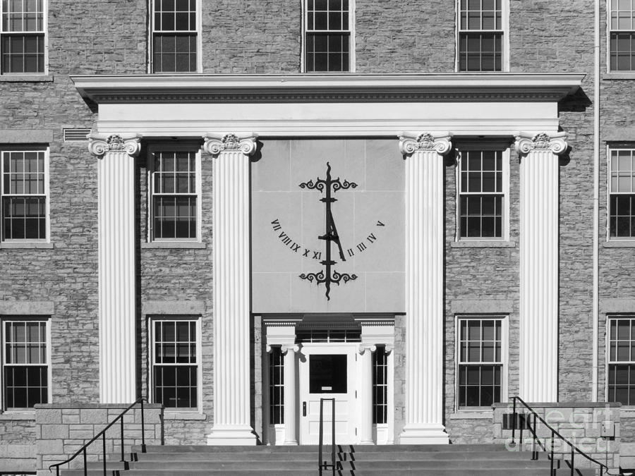 Appleton Photograph - Lawrence University Main Hall Sundial by University Icons