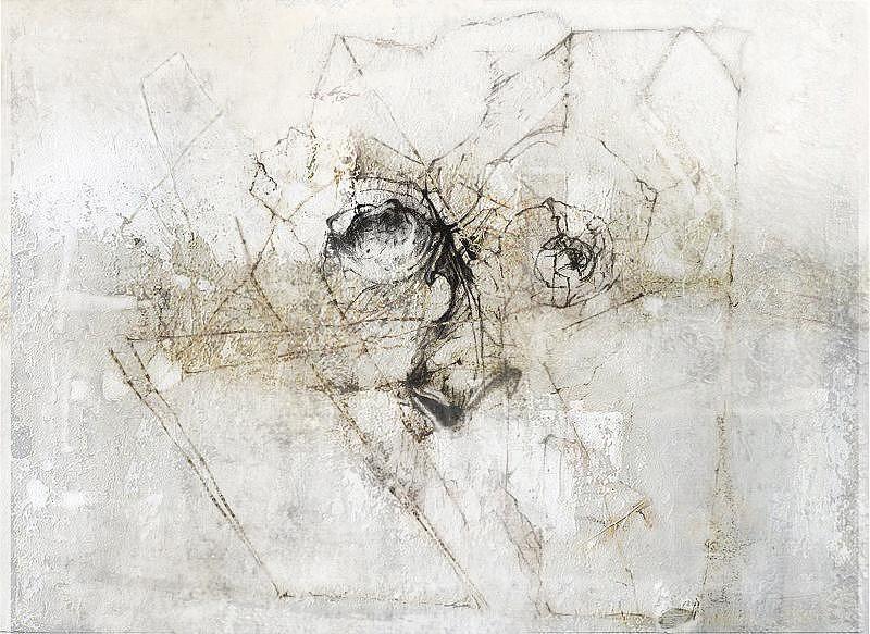 Artist Painting - Layering by Dabrowski Waldemar