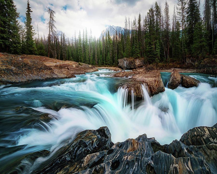 Canada Photograph - Layers 2 by Juan Pablo De