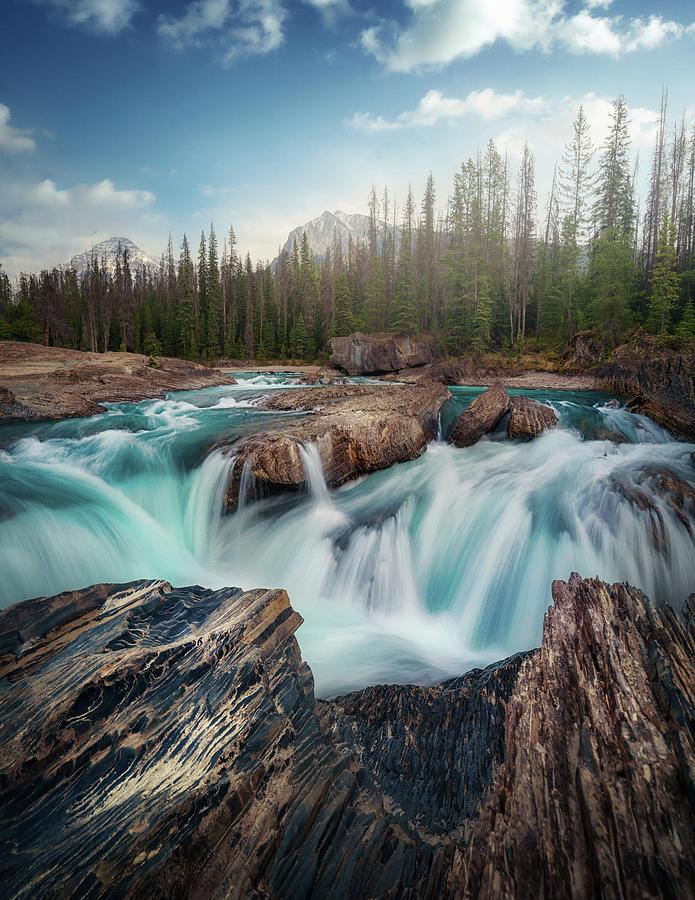 Canada Photograph - Layers by Juan Pablo De