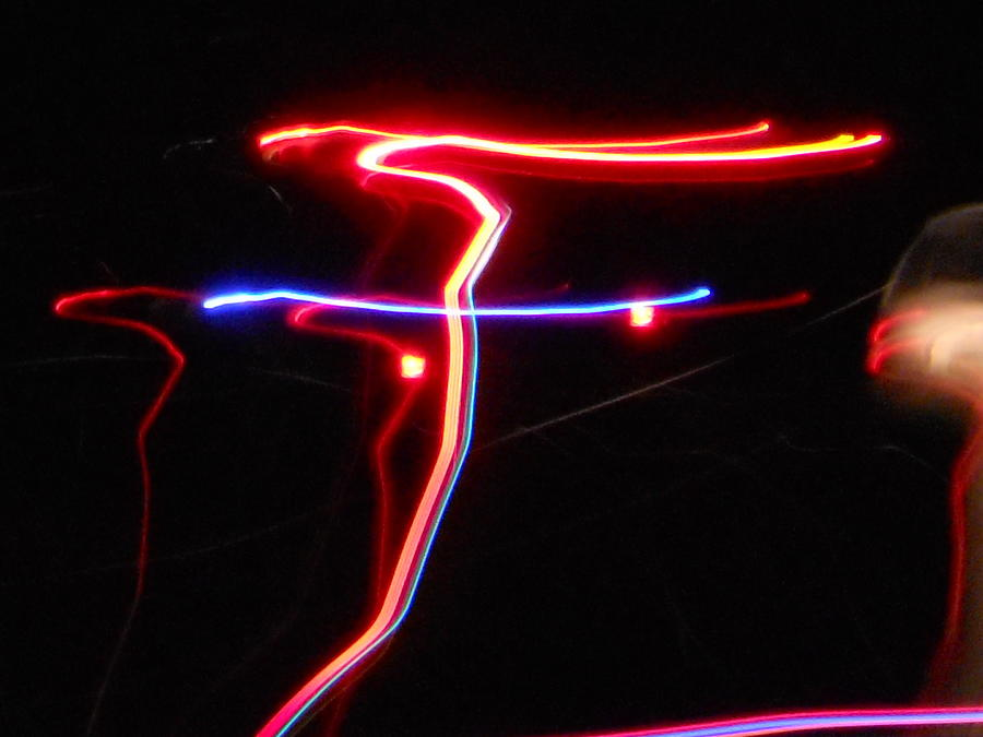 Abstract Photograph - Lazer Fusion No.4 by James Welch
