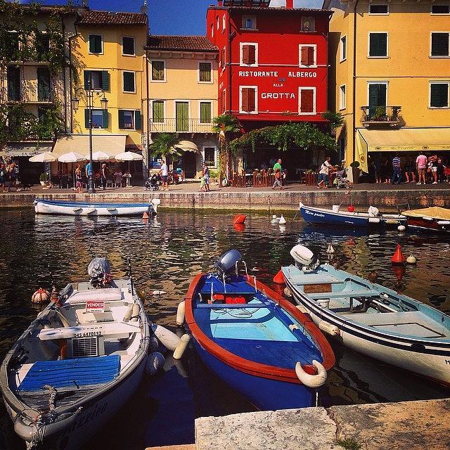 Italy Photograph - Lazise by Faye Sanna