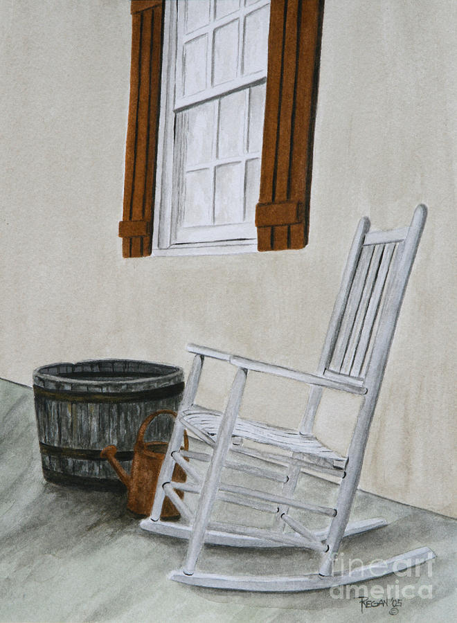 Americana Painting - Lazy Day by Regan J Smith