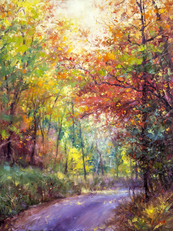 Beautiful Painting - Lazy Hazy Day by Bill Inman