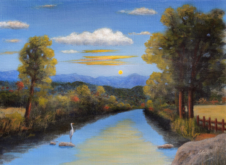 Lazy Painting - Lazy River by Gordon Beck