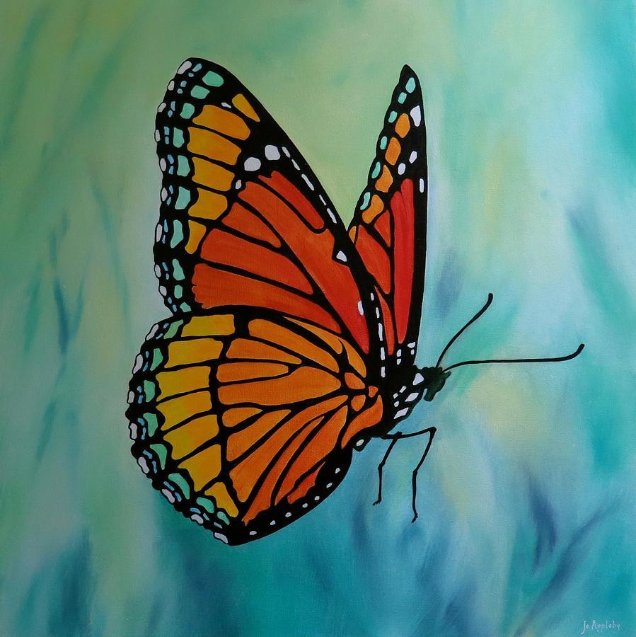 Le Beau Papillon by Jo Appleby