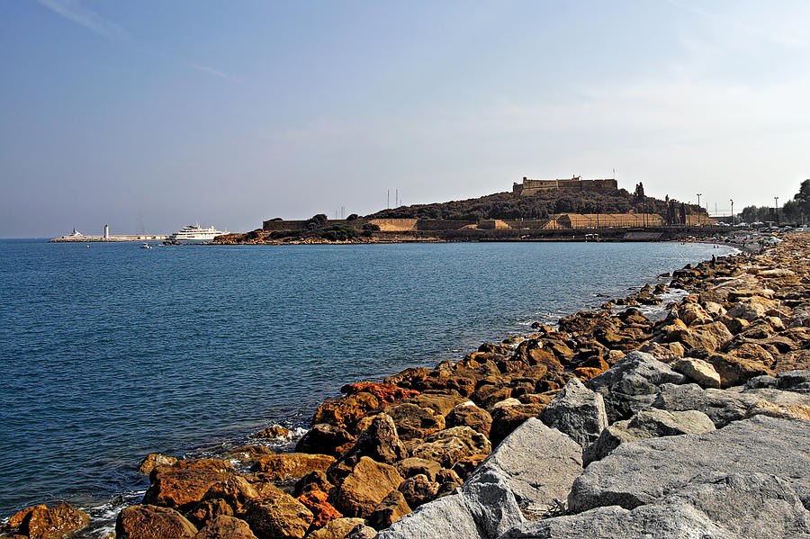 Fort Photograph - Le Fort Carre - Antibes - France by Christine Till