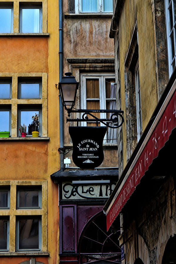Europe Photograph - Le Gourmand Saint Jean-lyon France by Tom Prendergast