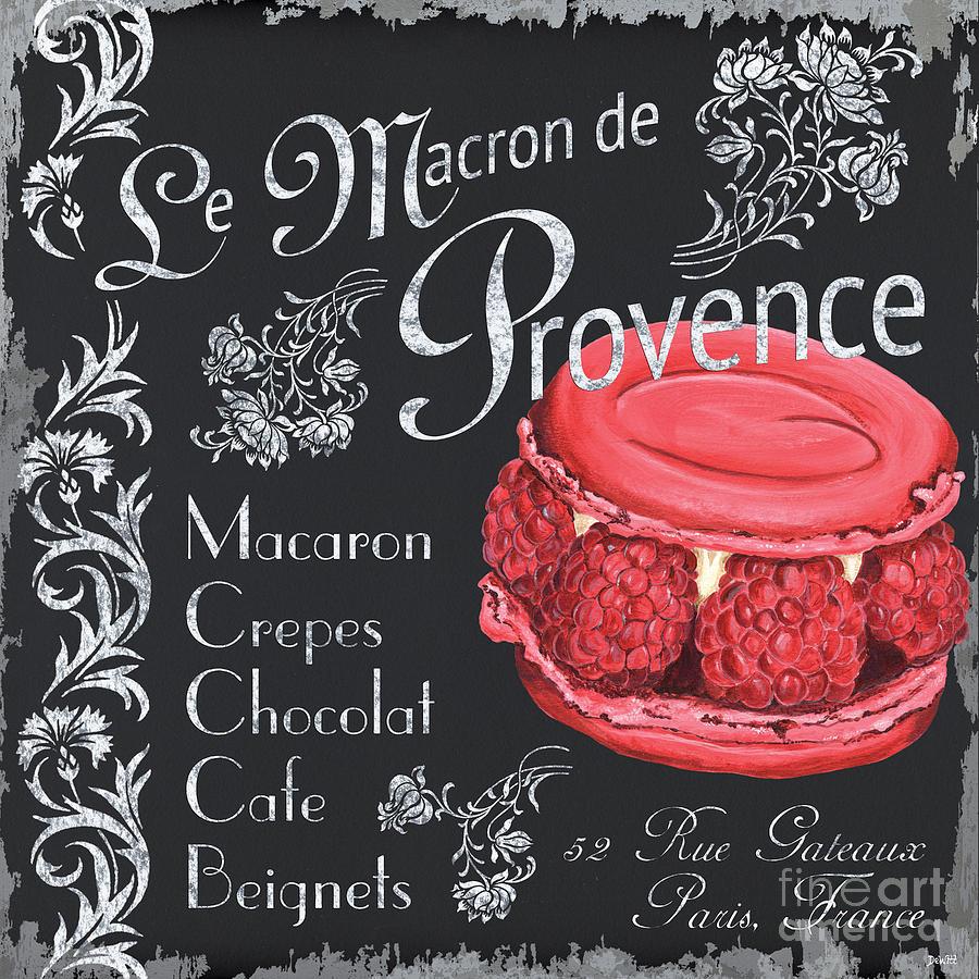 Macaroons Painting - Le Macron De Provence by Debbie DeWitt