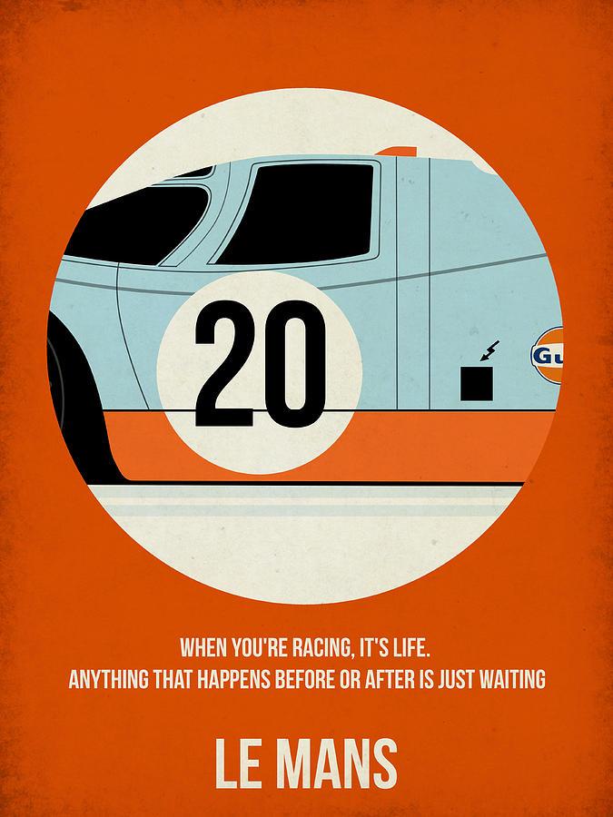 Le Mans Painting - Le Mans Poster by Naxart Studio