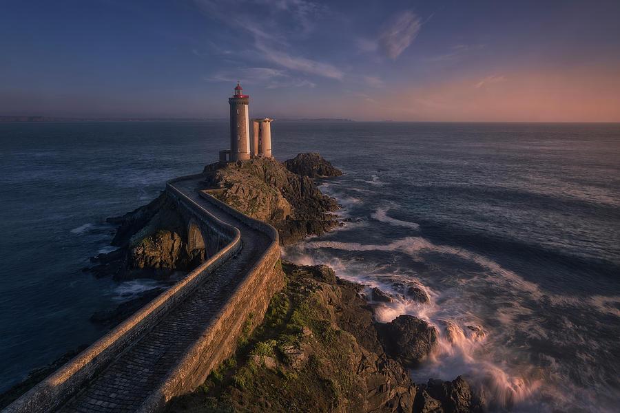 Bretagne Photograph - Le Petit-minou by Oskar Baglietto