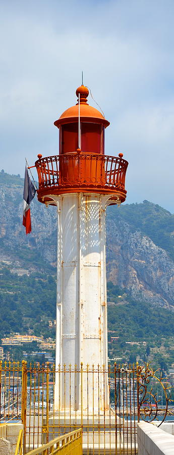 Lighthouse Photograph - Le Phare II by Corinne Rhode