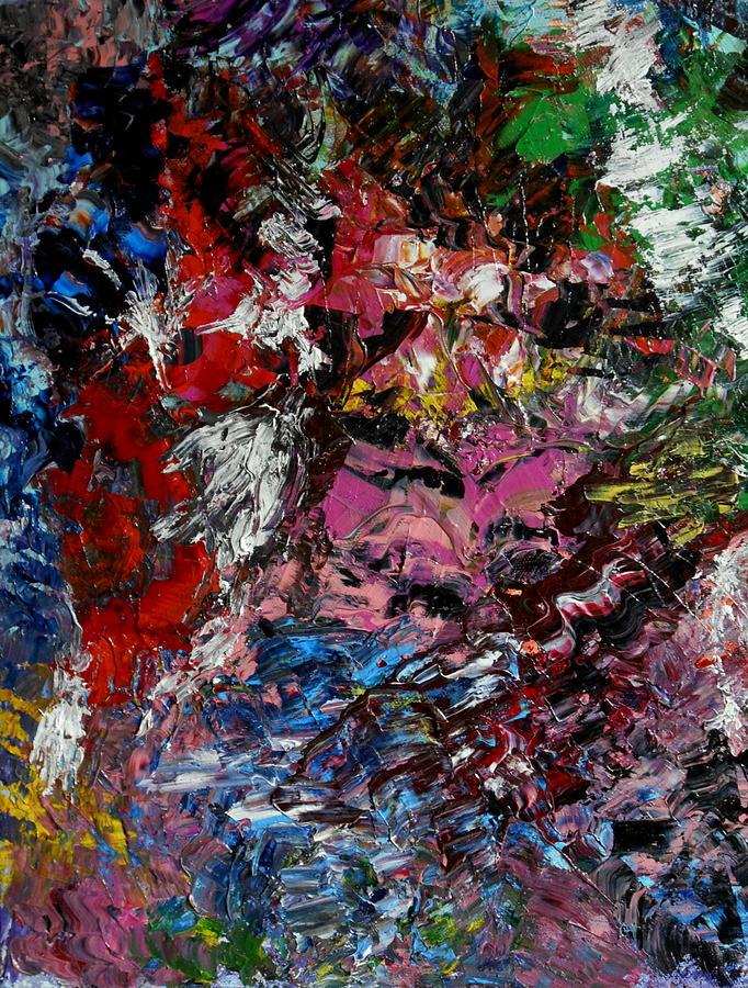 Landscape Painting - Le Regard by Danya Hammoudi