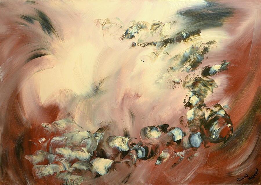 Angel Painting - Le Souffle De L Ange by Isabelle Vobmann