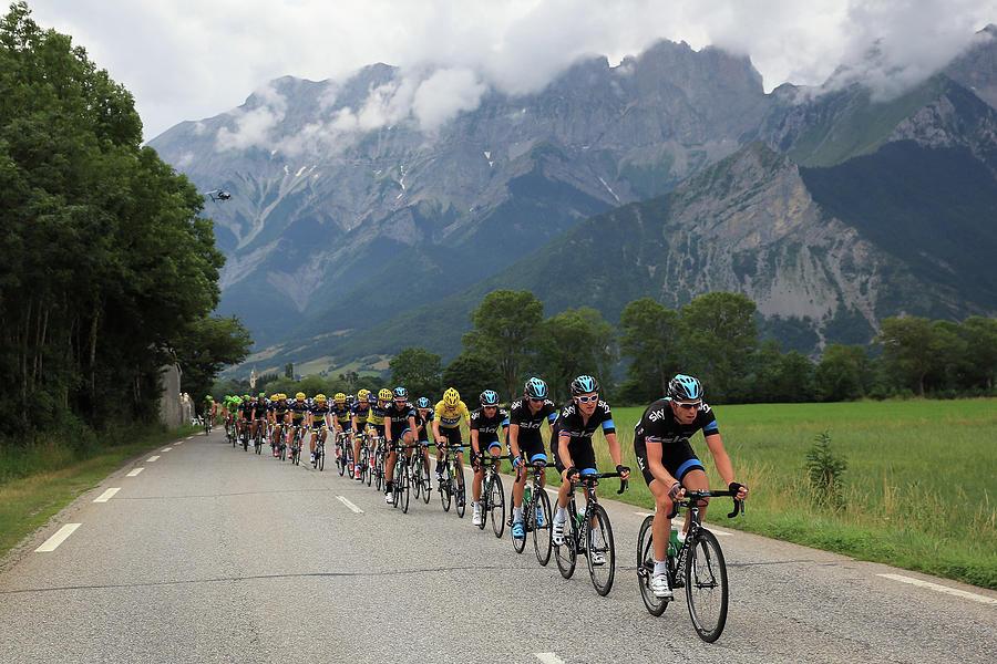 Le Tour De France 2013 - Stage Eighteen Photograph by Doug Pensinger