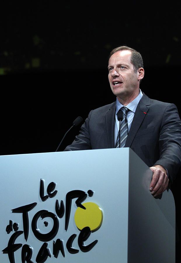 Le Tour de France 2015 Route Announcement Photograph by Chesnot