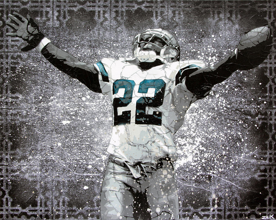 Emmitt Smith Painting - Leader Of The Cowboys by Bobby Zeik