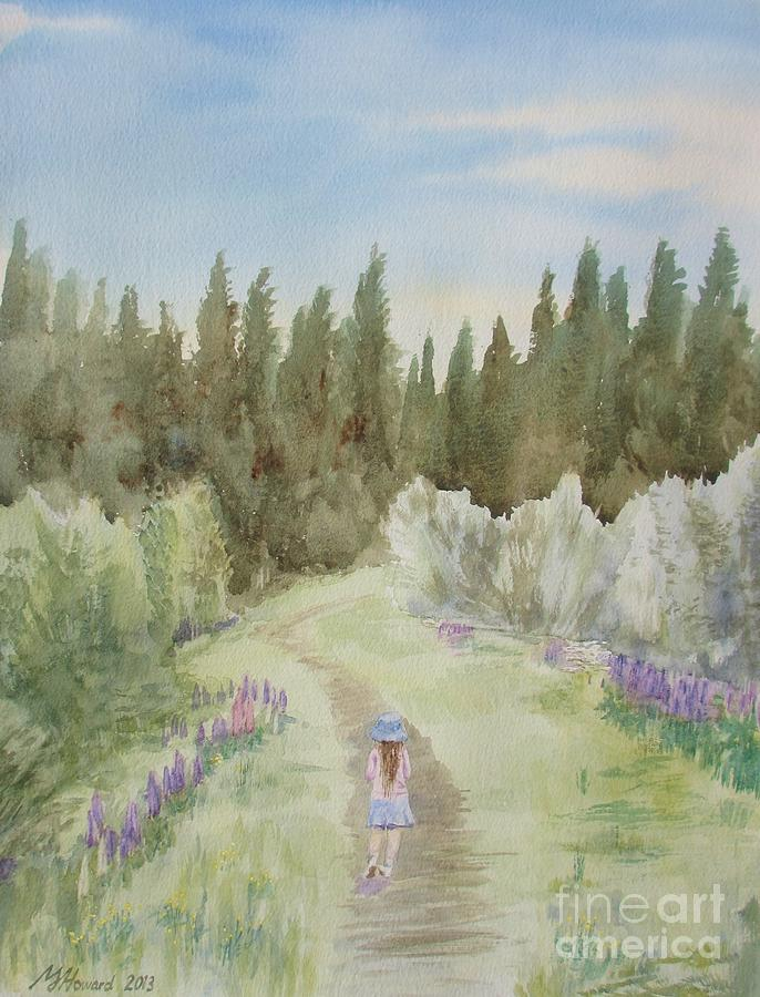 Leading The Way Painting - Leading The Way by Martin Howard