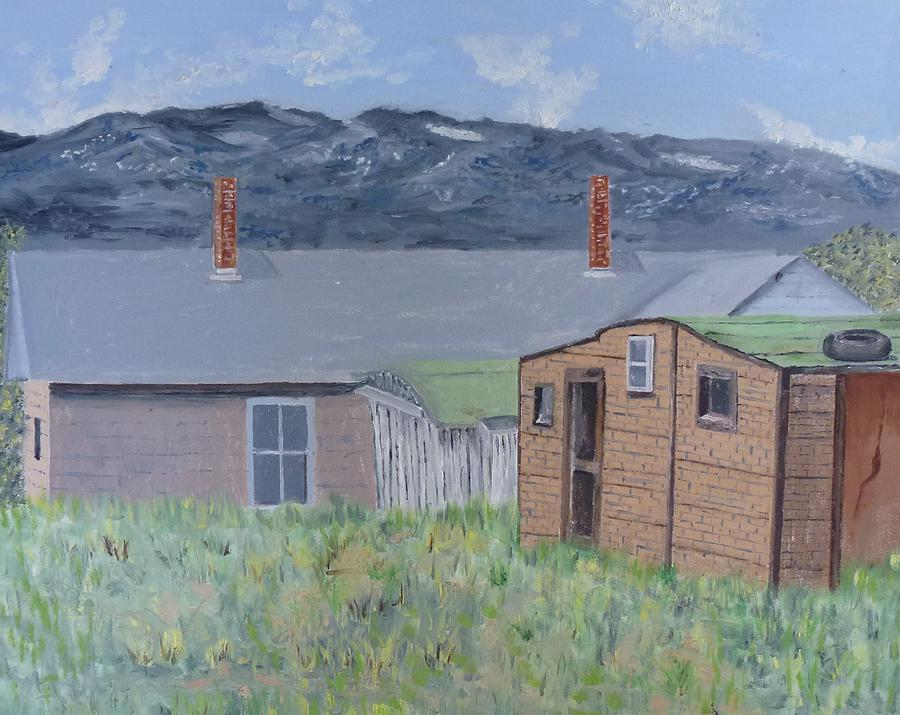 Mountains Painting - Leadville 1 by John Terry