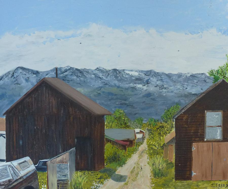 Mountains Painting - Leadville 2 by John Terry