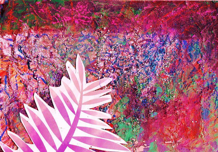 Leaf Mixed Media - Leaf Of My Imagination  by Anne-Elizabeth Whiteway