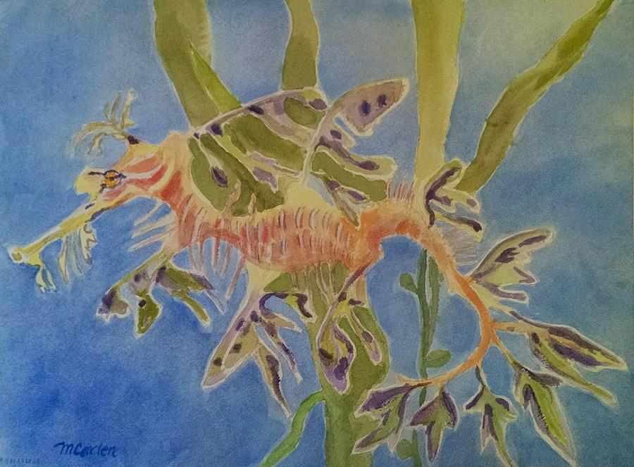 Leafy Sea Dragon by M Carlen