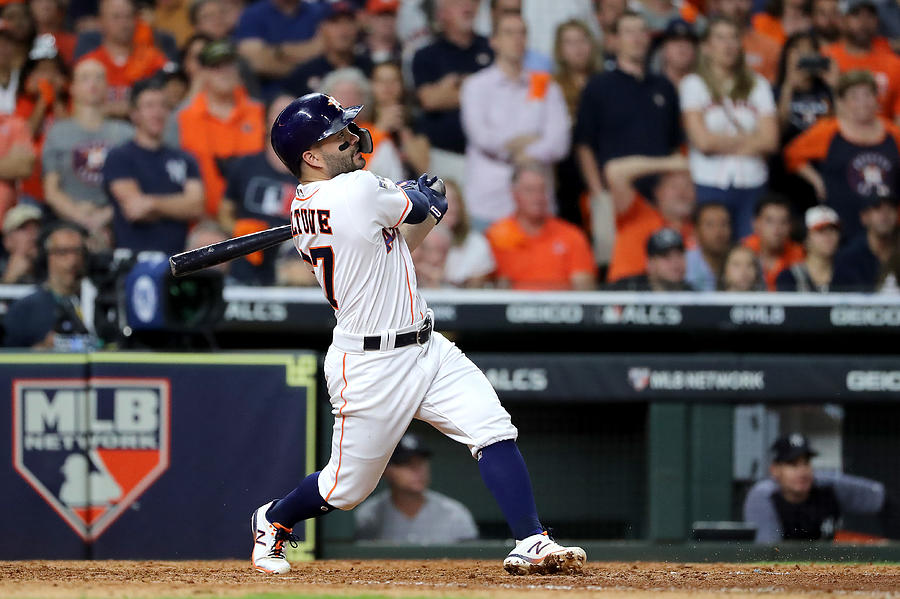 League Championship Series - New York Yankees V Houston Astros - Game Six Photograph by Elsa